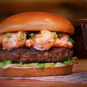 Outback tem burgers inusitados: de veggie a opções com costela e camarões