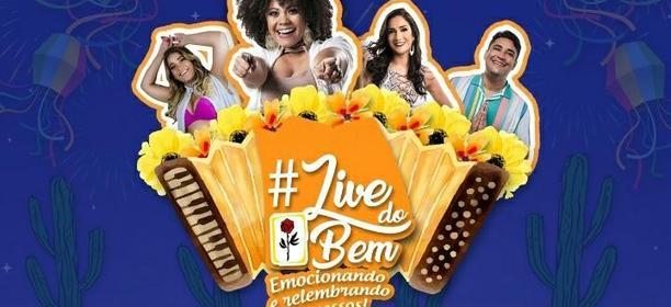Live de São João reunirá artistas alagoanos para arrecadar alimentos para famílias assistidas pela Pestalozzi
