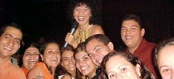 Eliane e Papajungle 2003 - #Maceio40Graus20Anos