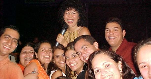 Eliane e Papajungle 2003 – #Maceio40Graus20Anos
