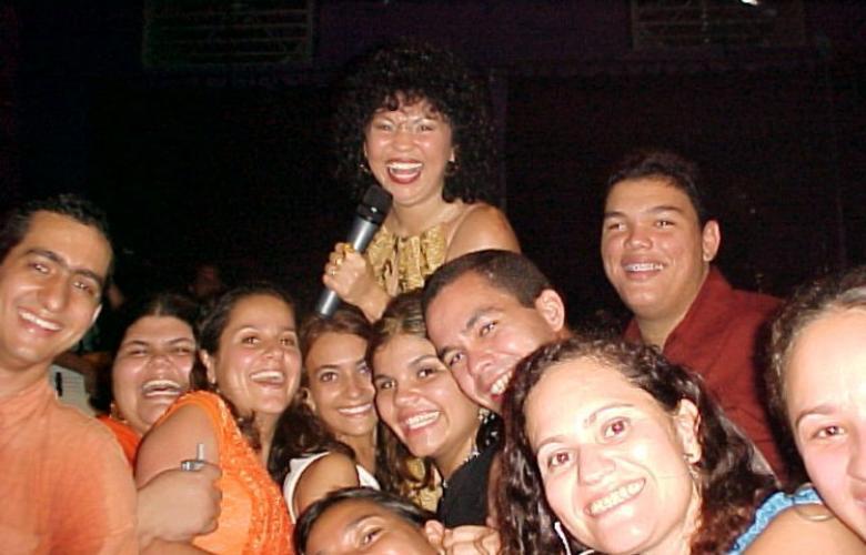 Eliane e Papajungle 2003 - #Maceio40Graus20Anos
