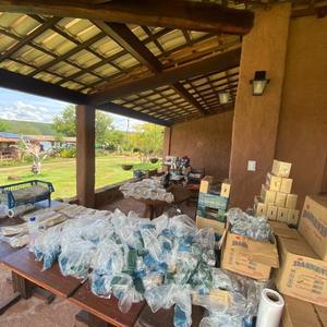 Restaurante Ecológico de Delmiro Gouveia produz máscaras de proteção para doação