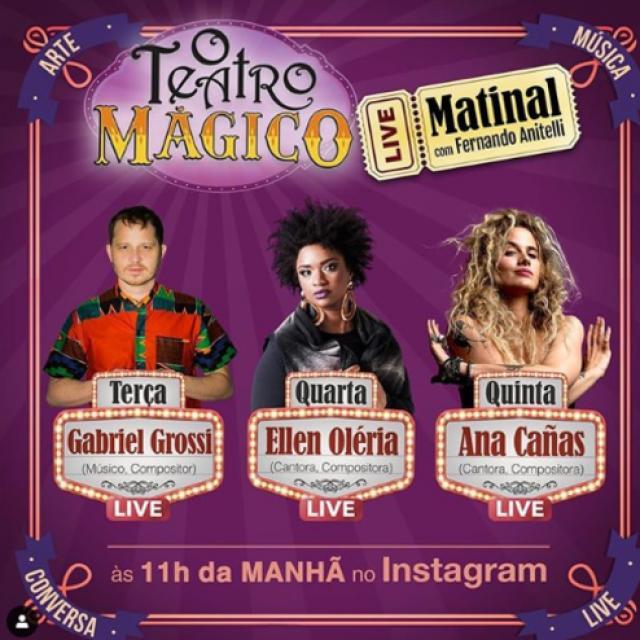 O Teatro Mágico com participação de Ana Cañas