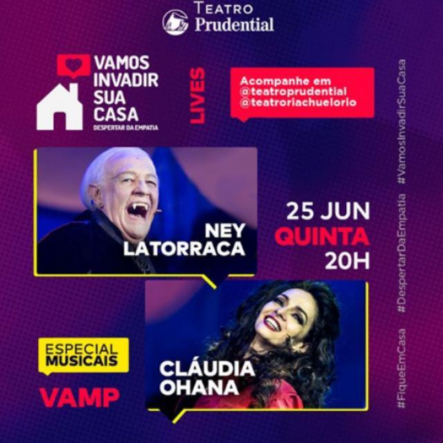Vamp – Ney Latorraca e Cláudia Ohana