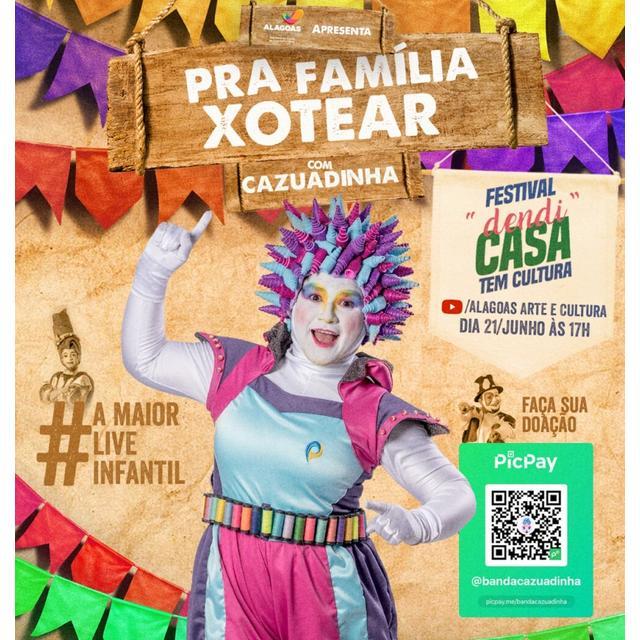 "Banda Cazuadinha –  ""Pra Família Xotear"""