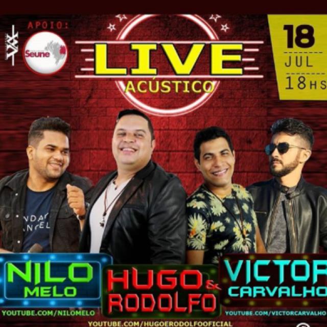 Nilo Melo, Hugo e Rodolfo e Victor Carvalho