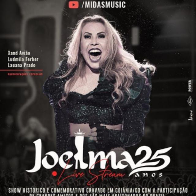 Joelma 25 anos