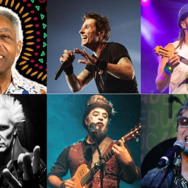 Gilberto Gil, Falamansa, O Teatro Mágico, Dinho Ouro Preto e outros quase 200 artistas
