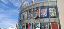 3ª Amostra Grátis: Diteal expõe obras nas paredes de vidro do Complexo Cultural Teatro Deodoro