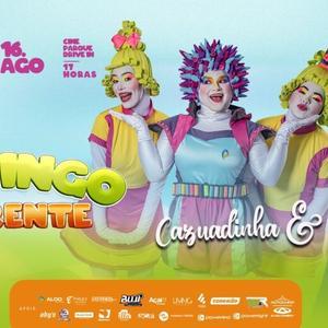 Banda Cazuadinha realiza o primeiro show infantil no formato drive-in em Alagoas