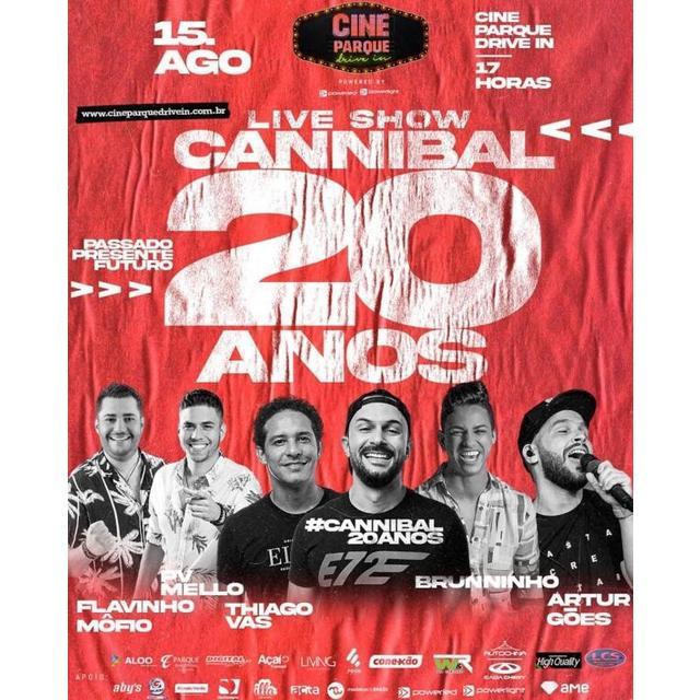 Live Show Cannibal 20 Anos
