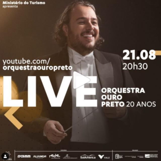 20 anos da Orquestra Ouro Preto
