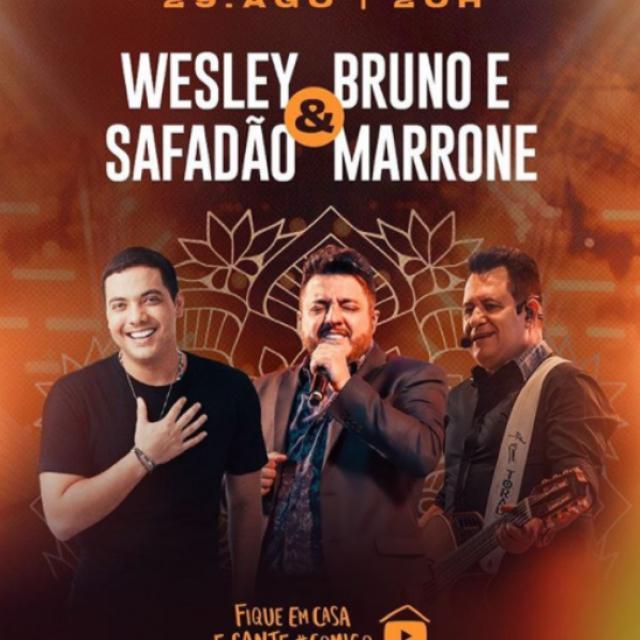 Wesley Safadão e Bruno e Marrone