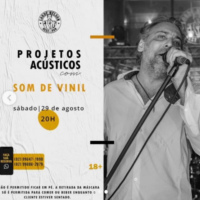 Projeto Acústico com Som de Vinil