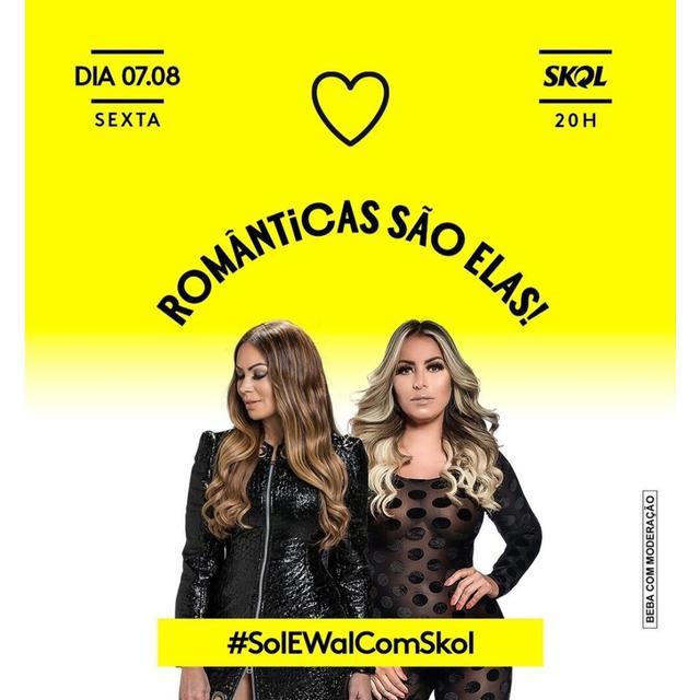Sol Almeida e Walkyria Santos