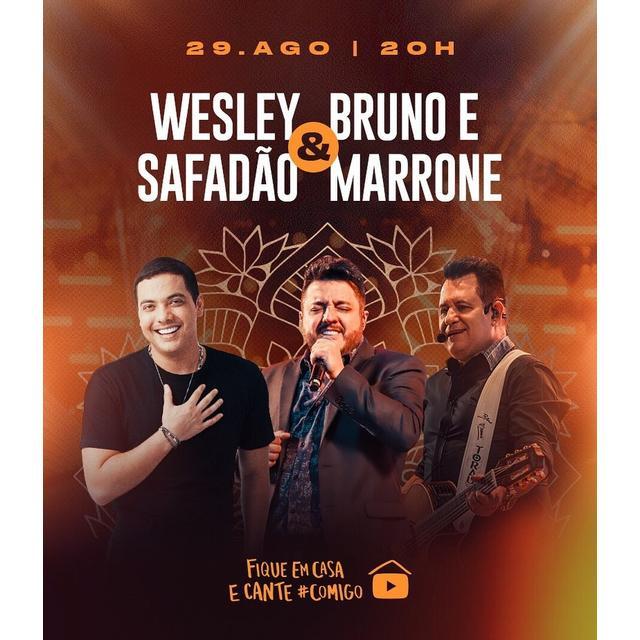 Wesley Safadão + Bruno e Marrone