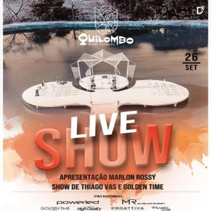 Thiago Vas e banda Golden Time farão live show neste sábado, a partir das 15h