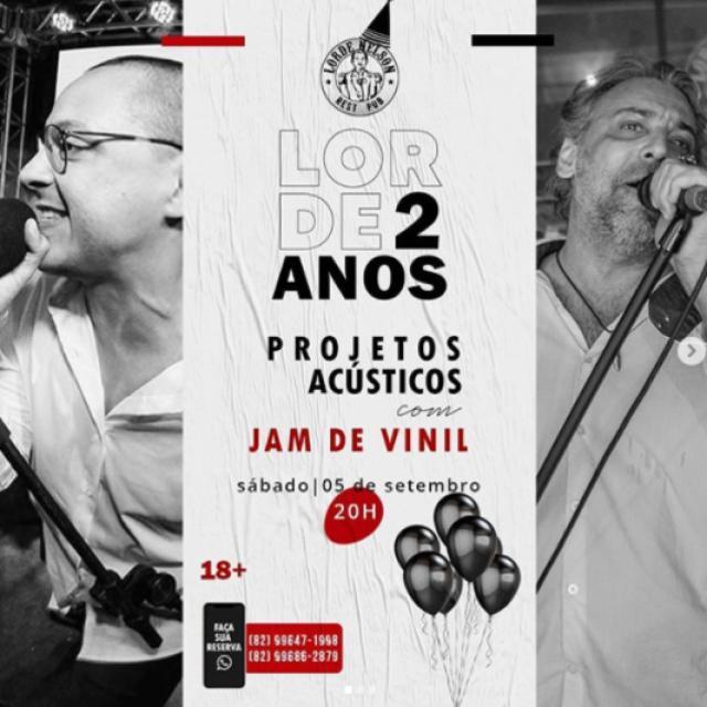 Projeto Acústico com JAM de Vinil