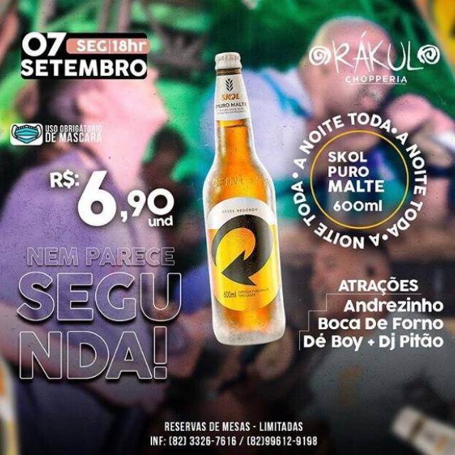 Andrezinho, Boca de Forno, Dé Boy e Dj Pitão