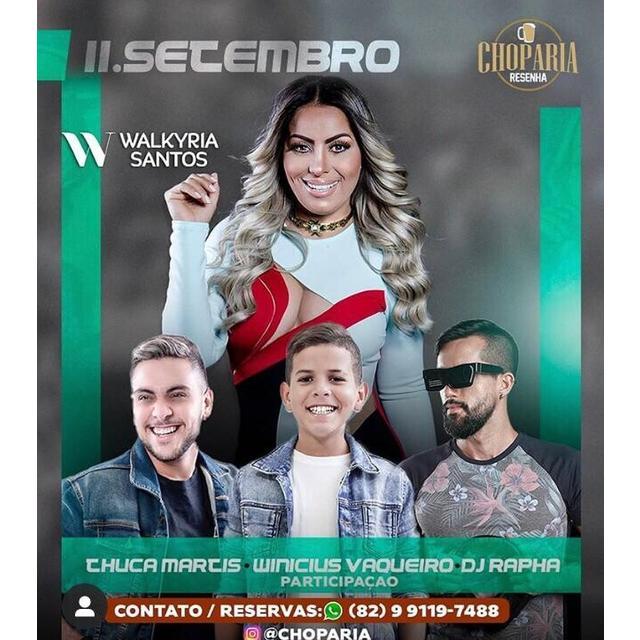 Walkyria Santos, Thuca Martins, Winicius Vaqueiro e Dj Rafa Maia.