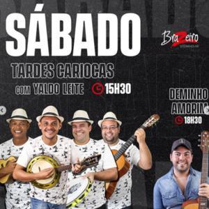 Tardes Cariocas com Yaldo Leite