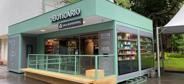 O Boticário abre pop up sustentável no Parque Ibirapuera