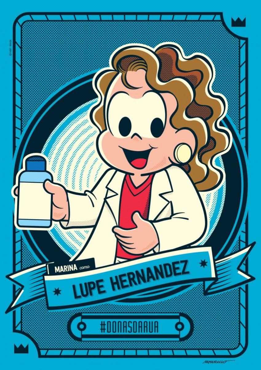 Criadora do álcool gel é homenageada pela Mauricio de Sousa Produções