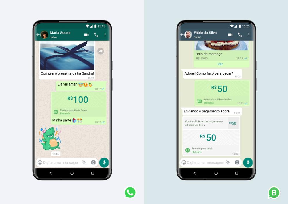 WhatsApp agora permite transferir dinheiro no Brasil