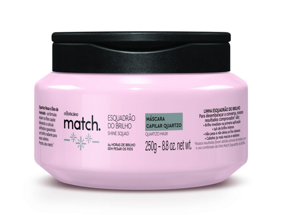 Match Esquadrão do Brilho garante até 24 horas de brilho sem deixar os fios pesados