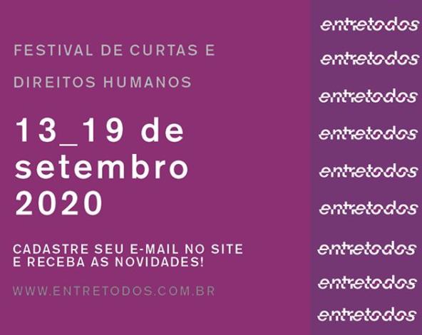 13ª edição do Festival Entretodos terá transmissão 100% on-line