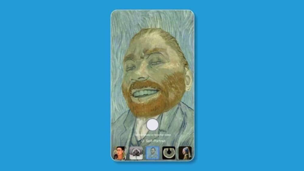 Filtro do Google transforma rosto em obras de Van Gogh e Frida Kahlo