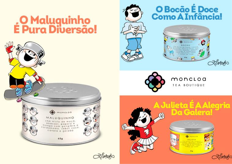 Chá do Menino Maluquinho é a novidade Moncloa para  o Dia das Crianças